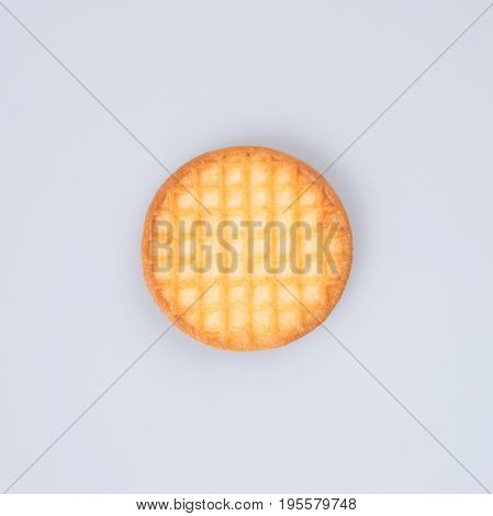 Cookies Or Butter Cookies On A Background.