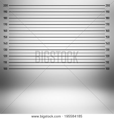 Police lineup or mugshot background (centimeter unit)