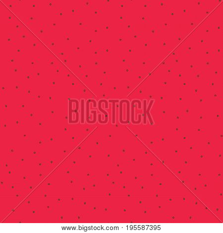 Cute bright color red fresh watermelon flesh with seeds pattern. Nice vector summer fruits texture for textile covers surface background wallpaper