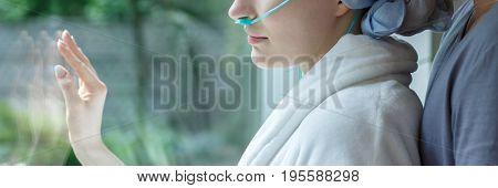 Sad Cancer Woman