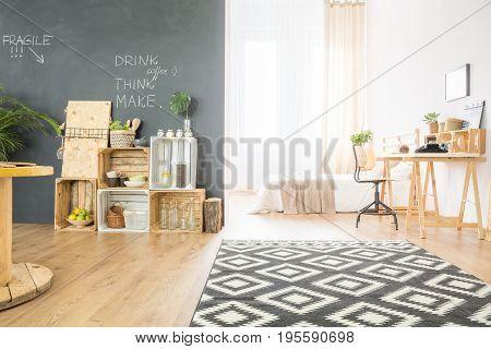 Hipster Single Studio Flat