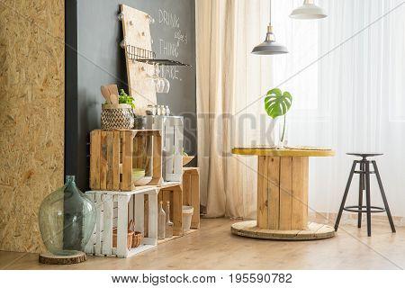 Diy Furniture In Eco Cafe