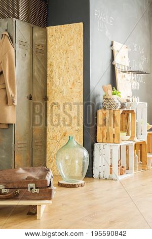 Interior With Upcycled Furniture