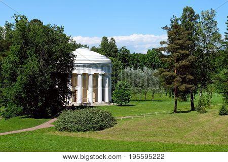 Temple Of Friendship In Pavlovsk, Russia