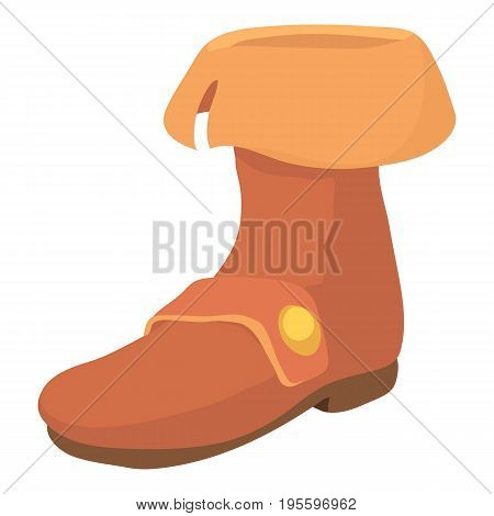 Footwear icon. Cartoon illustration of footwear vector icon for web