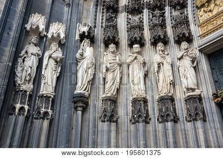 Cologne Cathedral (officially High Cathedral of Saint Peter) is a Roman Catholic cathedral in Cologne Germany