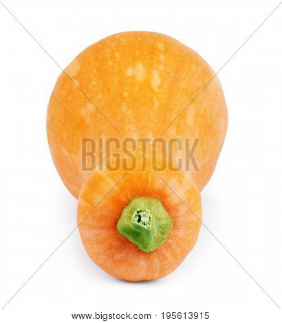 Pumpkin isolated on white background close, white, background, Whole, Decoration, Decorative,