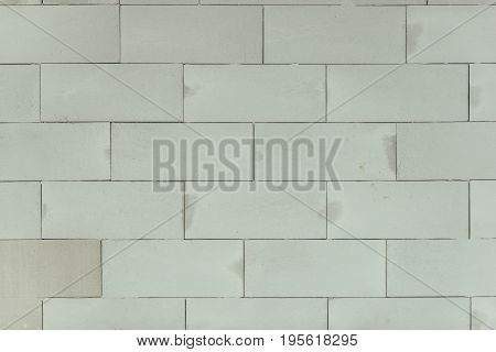 Concrete Blocks Wall Background. Hollow Brick Backdrop.