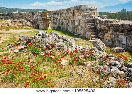 Ruins In Pamukkale