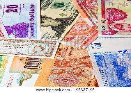 Paper Currency Background