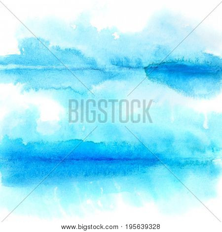 Abstract watercolor background with folds - space for text