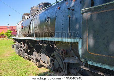 Old Trains That Are Tourist Attractions On Estrada De Ferro Madeira-mamore