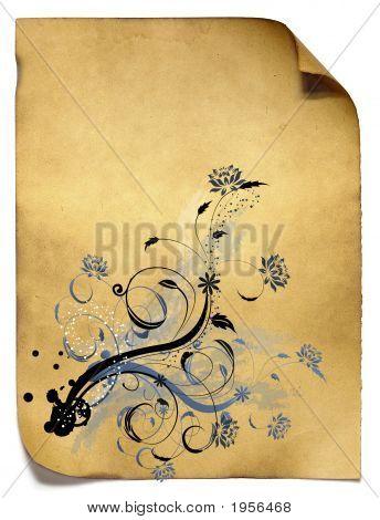 Old Paper Patterned