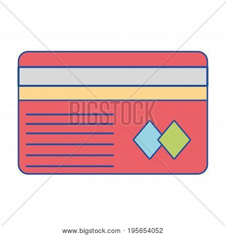 credit card to financial business vector illustration