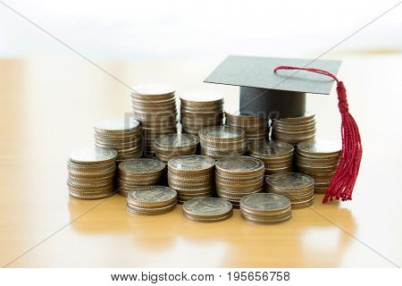 Saving every single cent and dollar for education