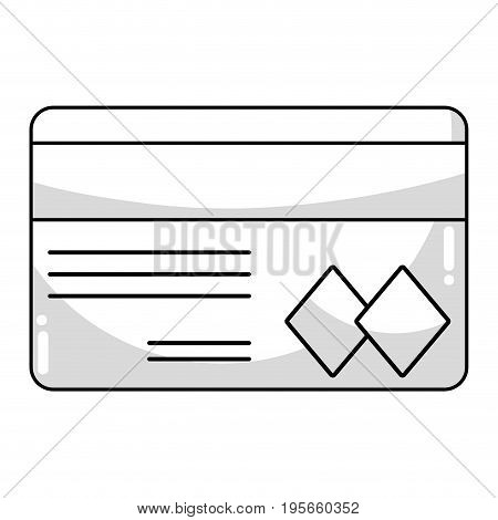 line credit card to financial business vector illustration