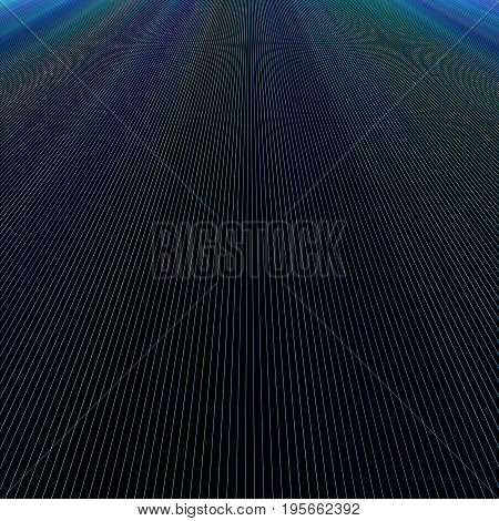 Dark abstract ray light background design - vector graphic