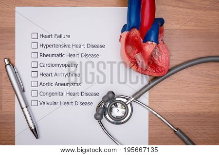 Doctor are diagnosing the disease in patient's heart.
