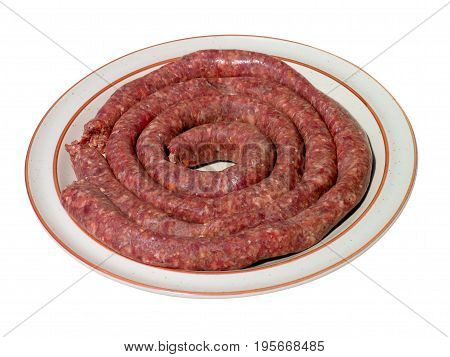 Boerewors is a type of sausage which originated in South Africa 15adr