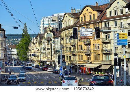 Zurich Street, Switzerland