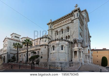 Saint Nicholas Cathedral in Monaco, is the cathedral of the Roman Catholic Archdiocese of Monaco