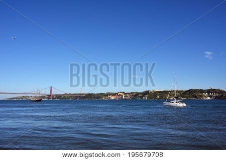 Tagus River, Lisbon Portugal