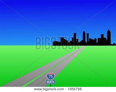 Atlanta And Interstate 75