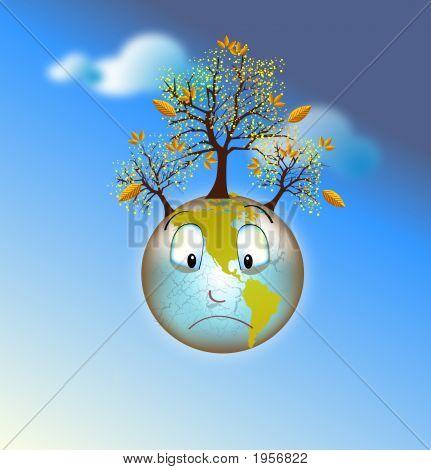 Sad Earth Dying