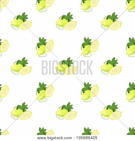 Seamless Background Image Colorful Watercolor Texture Vegetable Food Ingredient Patty Pan Squash