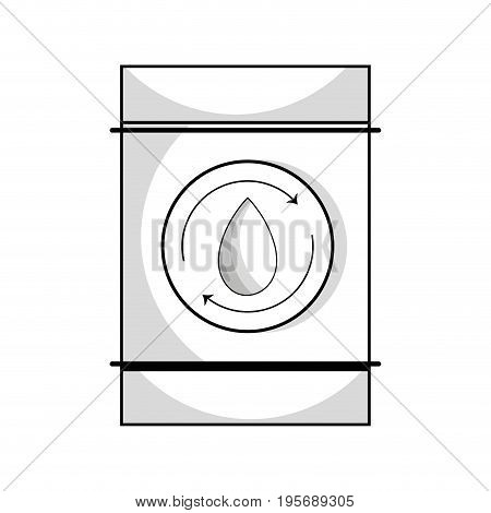 line water tank to environment care vector illustration