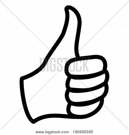 Vector Single Icon - Thumb Up