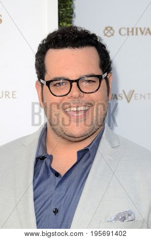 LOS ANGELES - July 13:  Josh Gad at the Final Pitch Event from Chivas The Venture at the LADC Studios on July 13, 2017 in Los Angeles, CA