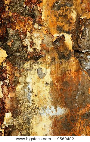 Textured Background from old grungy European wall background