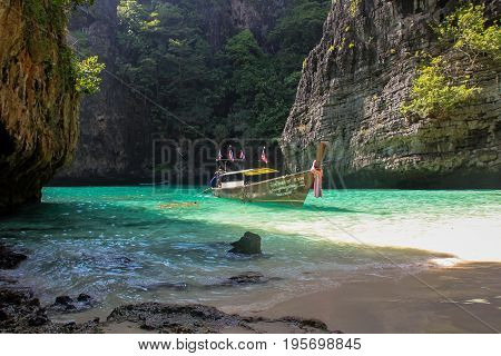 Ko Phi Phi Lee Islands In Southern Thailand