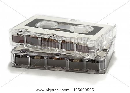 Retro Tape Cassettes Isolated