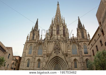 Barcelona Cathedral of the Holy Cross and Saint Eulalia, Spain