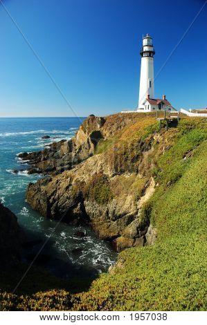Pidgeon Point Lighthouse, Near Monterey Ca.