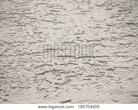 Wall covered with putty white color nice textxure