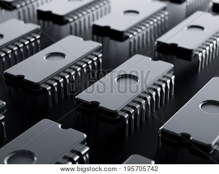Integrated Circuit Raw Isolated