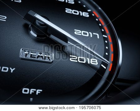 2018 Year Car Speedometer