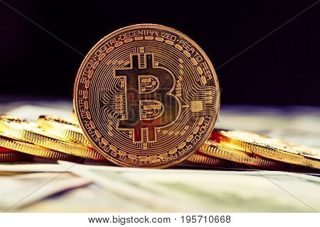 Golden Bitcoins - new virtual money
