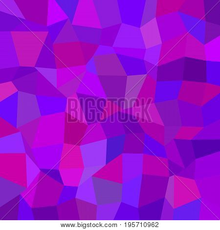 Purple abstract geometrical irregular polygon mosaic background - polygonal vector graphic from rectangles