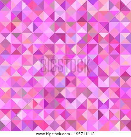 Geometric abstract triangle mosaic pattern background - vector graphic from triangles