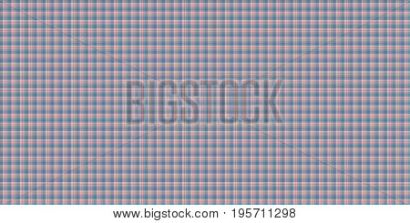 Gray Seamless Scottish Tartan Background Texture