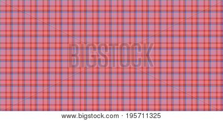 Rose Pink Seamless Scottish Tartan Background Texture