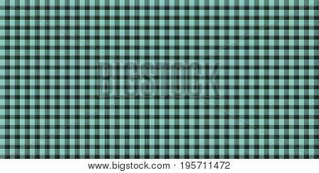 Sea Blue Seamless Scottish Tartan Background Texture
