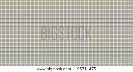 Yellow Seamless Scottish Tartan Background Texture