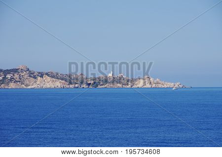 View Of Santa Teresa Di Gallura, Sardinia.