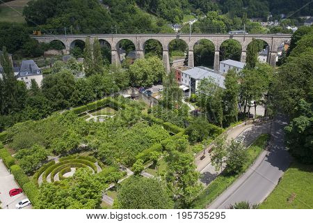 Passerelle Old Bridge, Luxembourg City