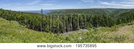 Cape Breton Island Panoramic